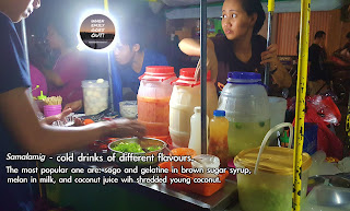Philippine street foods / refreshments