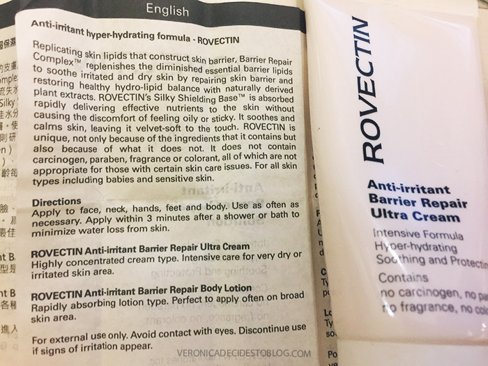 Rovectin Anti-irritant Barrier Repair Ultra Cream