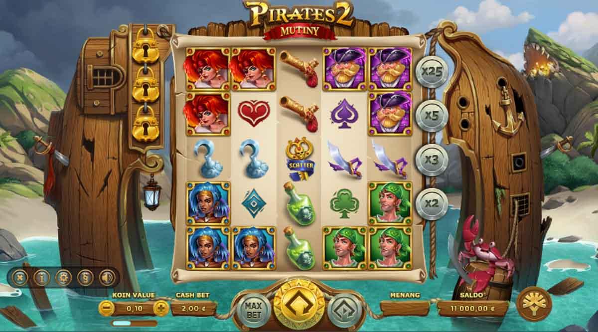 Pirates 2 Mutiny - Demo Slot Online Yggdrasil Indonesia