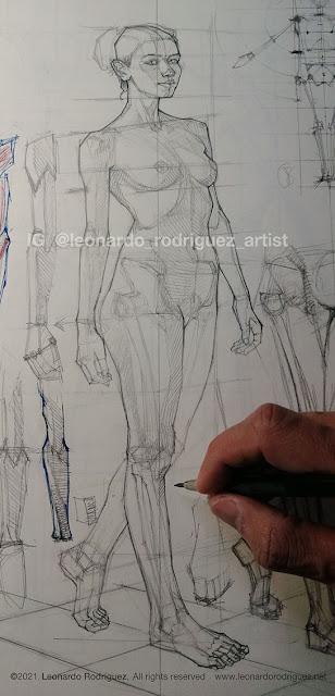 Illustration-artist-leonardo-rodriguez-sketching