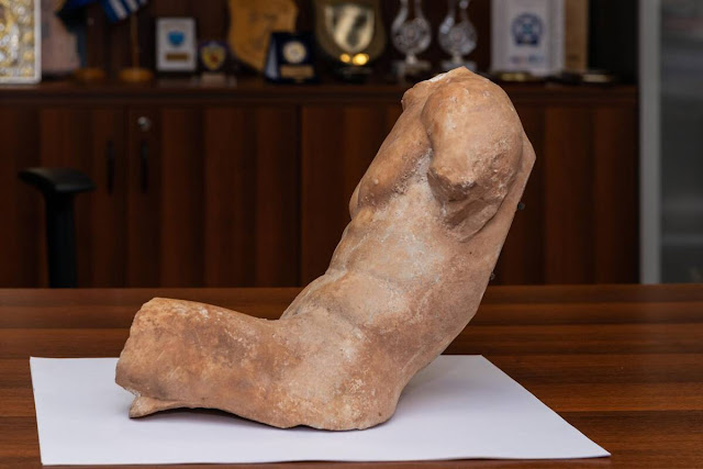 Greek police recover ancient statue of 'exceptional artwork'