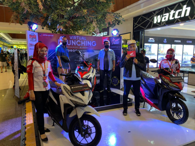 Launching Motor New Honda Vario 125 dan Vario 150 Secara Virtual