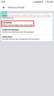 cara mengetahui kode email fb sendiri