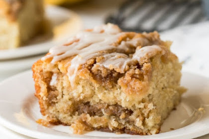 EASY BANANA CRUMB CAKE RECIPE