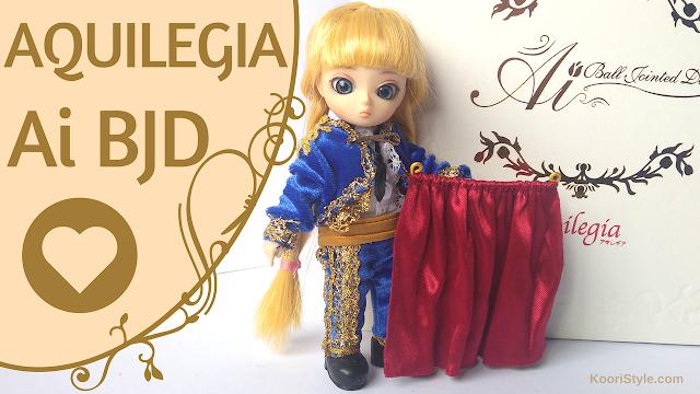 Koori Style, KooriStyle, Doll, dolls, Ai BJD, Ball Jointed doll, Ai ball jointed doll, miniature, muñeca, muñecas, unboxing, review, reseña, opening, miniatura, juguete, juguetes, toy, toys, cute, kawaii, pullip, groove, Aquilegia