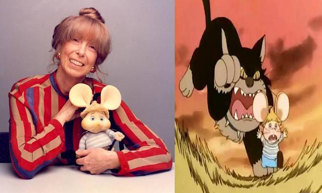 """وفاة ماريا بيريغو مبتكرة شخصية الفأر توبو جيجيو """" أحذر ميغالو يا سوسان """""""