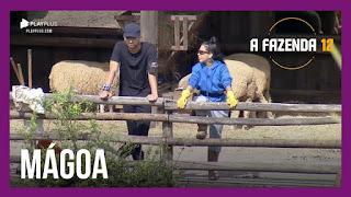 A Fazenda 12 – Mirella critica Raissa – Juliano lê nova punição