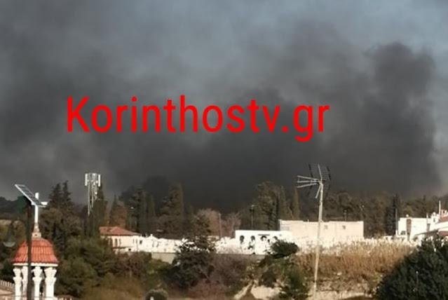 Εξέγερση μεταναστών στην Κόρινθο με φωτιές και πετροπόλεμο (βίντεο)