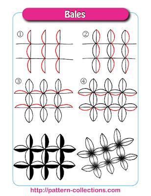 Zentangle Bales