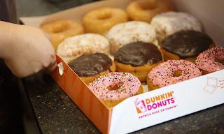 Menu Dunkin Donuts