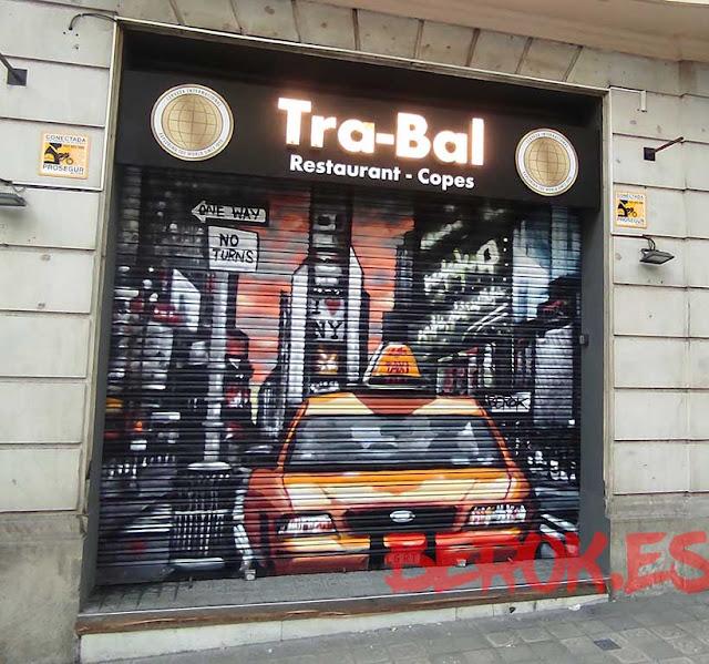 graffiti new york taxi persiana