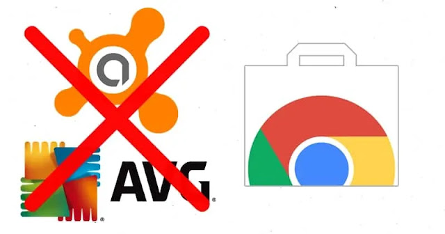 جوجل تُزيل إضافات Avast و AVG من متجر كروم بسبب التجسس على المستخدمين