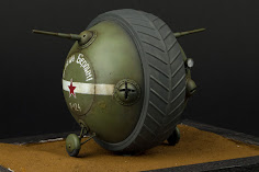 "Construction Guide Pt. II: Miniart's 35th scale Soviet Ball Tank ""Sharotank"" Exterior"