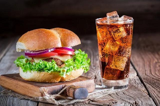 Soda and Burger