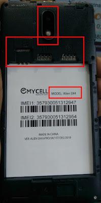 MYCELL ALIEN SX4 VPRO FLASH FILE
