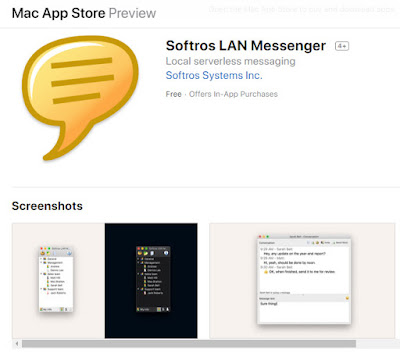 download and install LAN messenger for Mac OS X