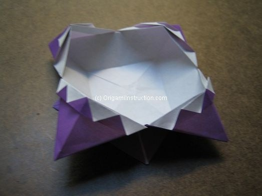 Origami Instruction.com: Origami Fancy Box - photo#2