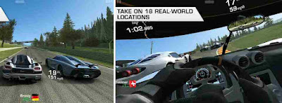 Game Balapan Mobil Android Real Racing 3
