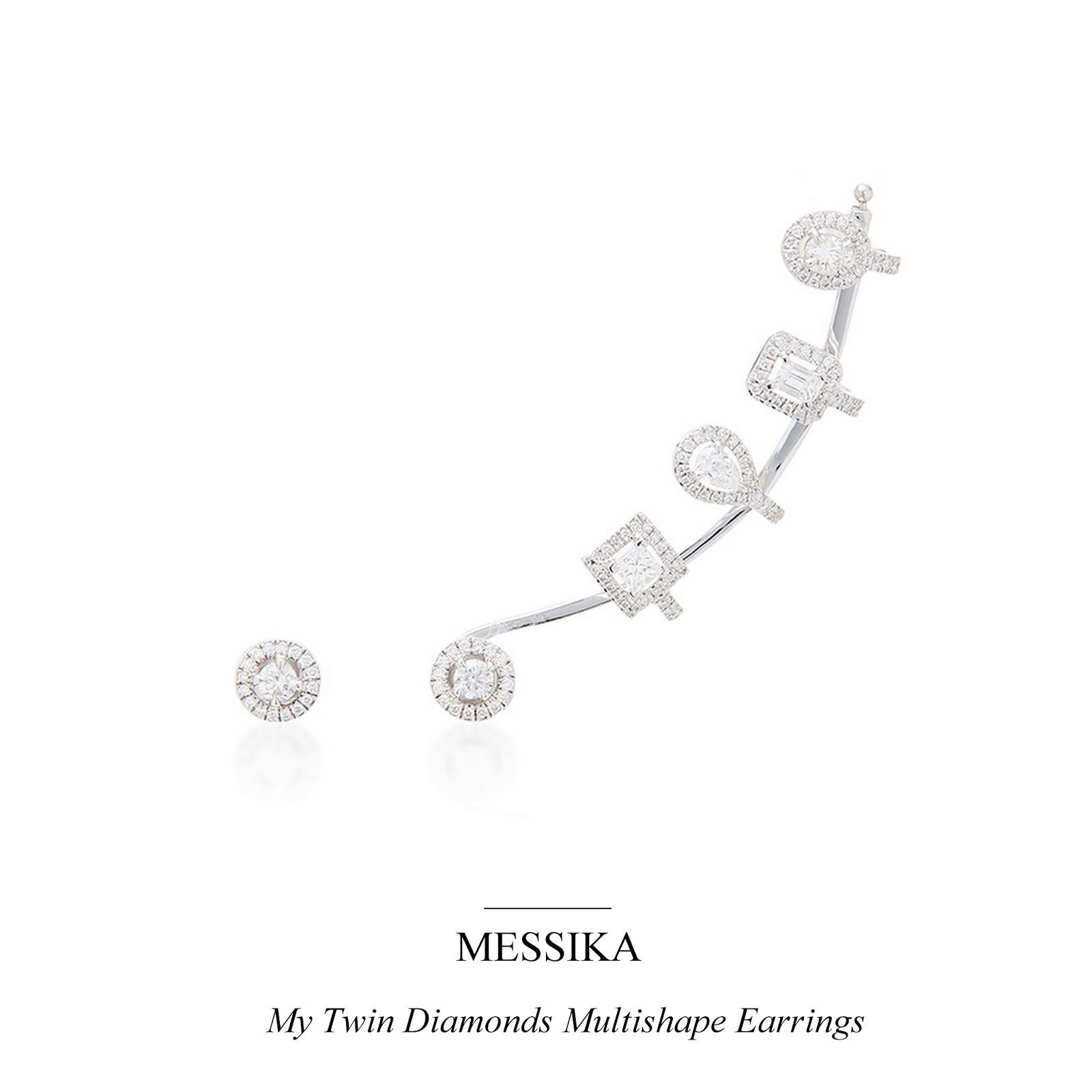 9b2a651da Day 3: My Twin Diamonds Multishape Earrings from Messika