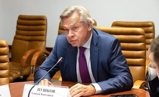 А. Пушков, вошедший в первую пятерку лидеров среди самых успешных пропагандистов