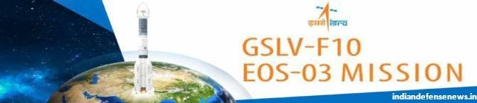 Countdown For Launch of EOS-03 Satellite Commences: ISRO