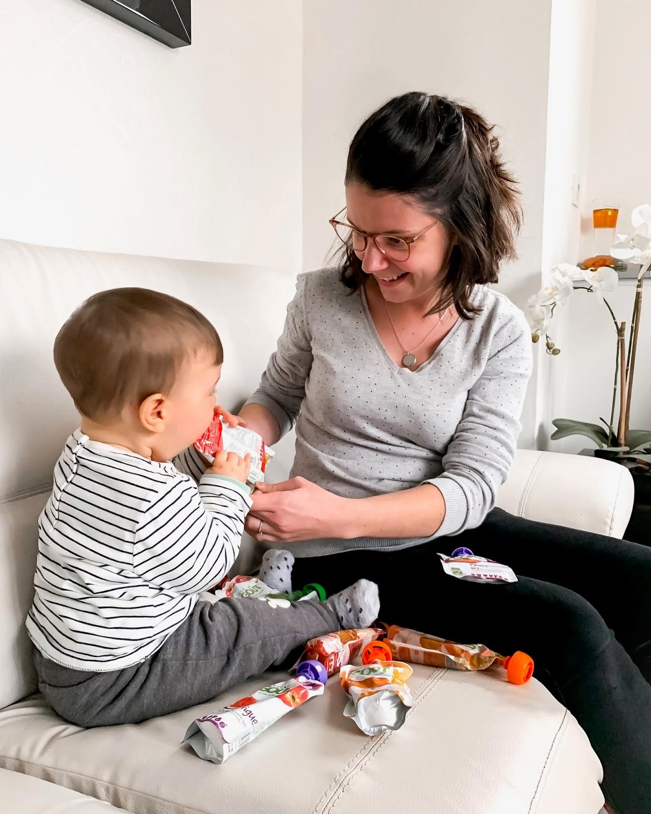 diversification alimentaire petit pot fait maison comment faire bébé avis goodgout gourde