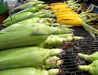African grilled corn on the cob recipe