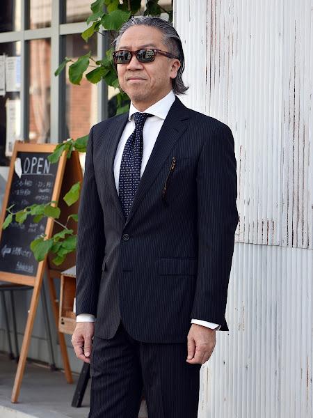 40代メンズのスーツスタイル