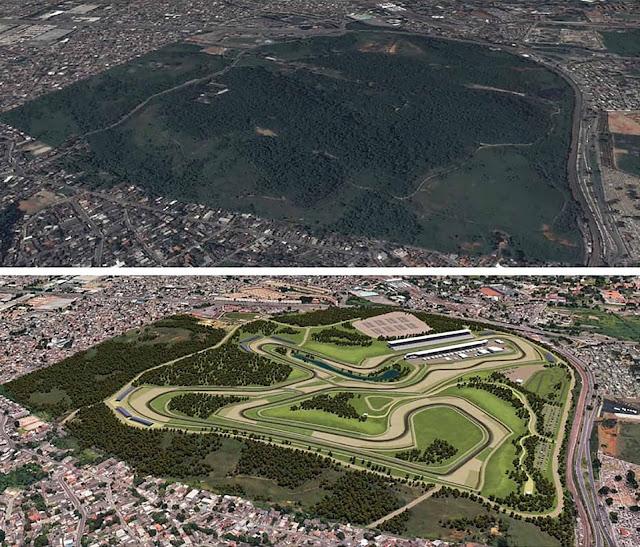 Floresta do Camboatá - Novo Autódromo do Rio de Janeiro