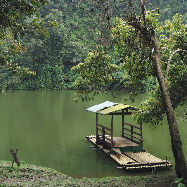 Wisata Telaga Mablu Indragiri Hilir