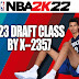 NBA 2K22 2023 Draft Class by X-2357