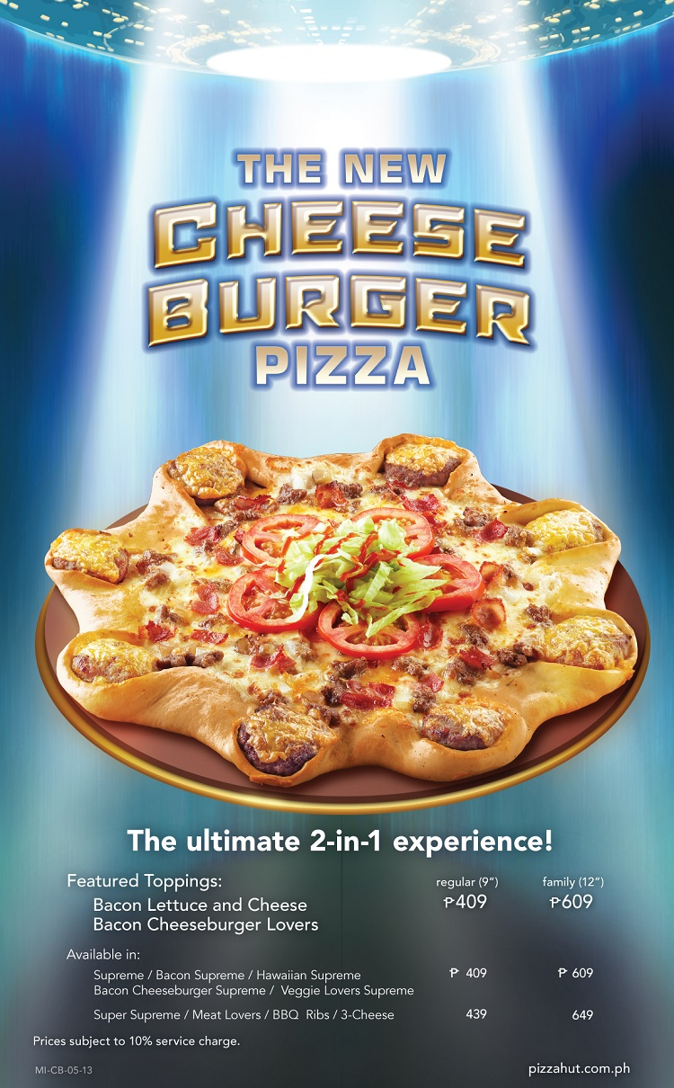 Pizza Hut: Cheeseburger or Pizza?