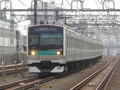 小田急電鉄 東京メトロ千代田線直通 急行 取手行き E233系2000番台