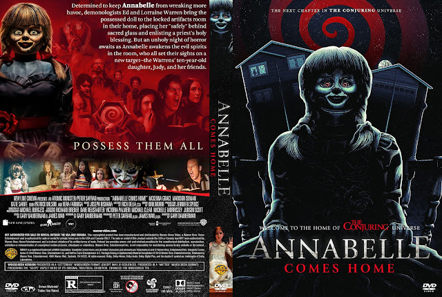 Annabelle Comes Home DVD Cover