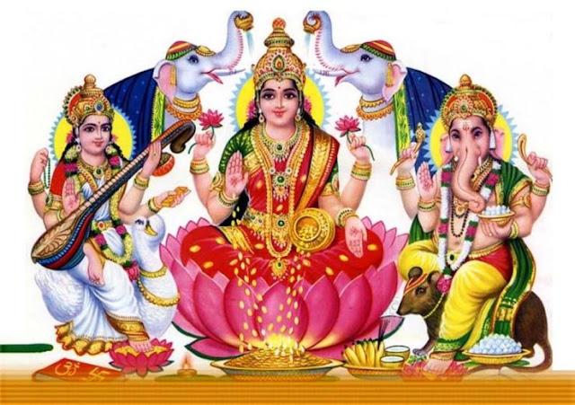 Happy Diwali 2019 HD Lakshmi Ganesha Images
