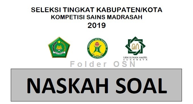Soal KSM Tahun 2019