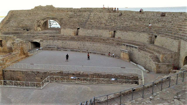 Anfiteatro de Tarragona, gradas