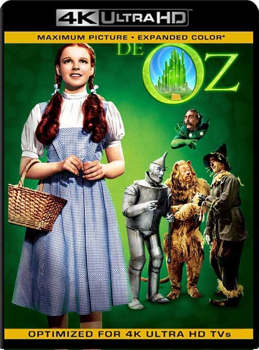 El Mago de Oz (1939) 4K 2160p UHD [HDR] Latino [GoogleDrive]