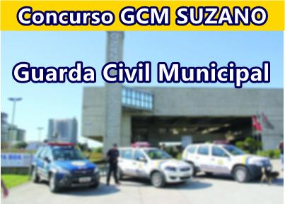 concurso gcm guarda municipal de suzano sp