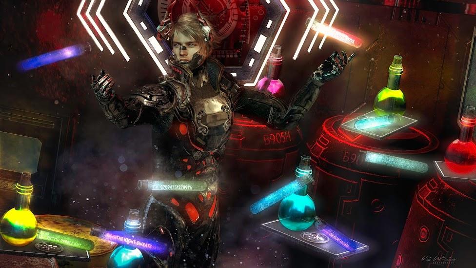 andika[potion ]set@ Cyber Fair