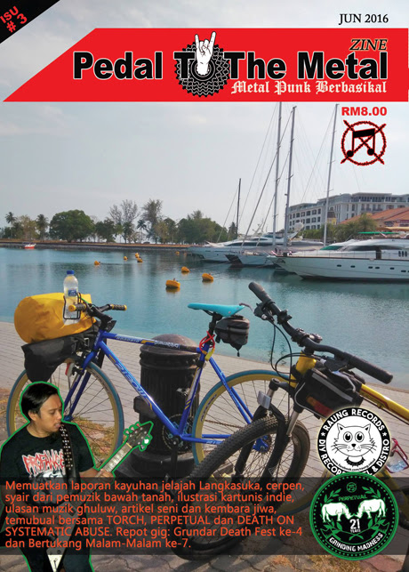 PEDAL TO THE METAL ZINE - ISU #3 (JUN 2016)