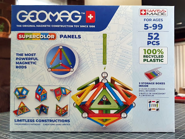 Geomag Super Color Panels Magnetic Construction Set box front