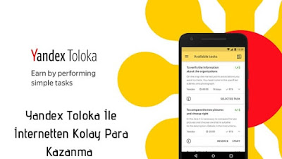 Yandex Toloka ile İnternetten Para Kazanma