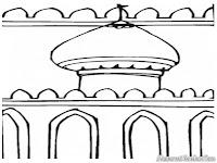 Mewarnai Rumah Ibadah Umat Islam