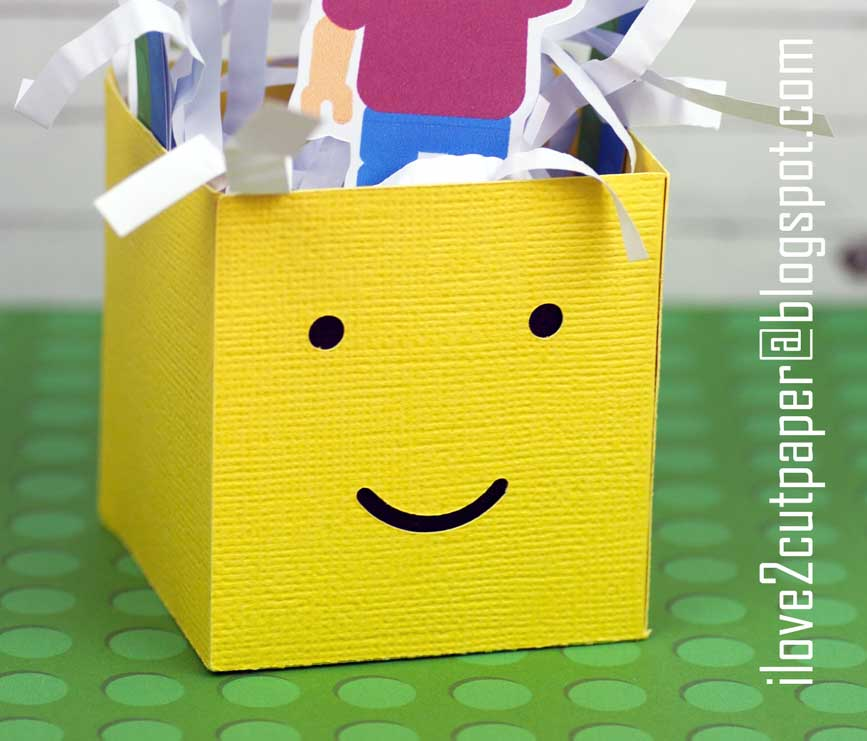how to make a gift box out of lego