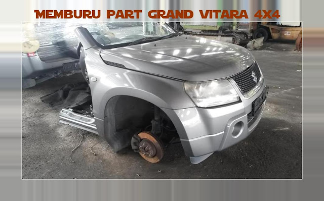 Modikasi grand vitara 4x4