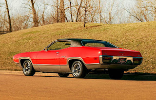 1972 Plymouth Satellite Sebring 318 Left Rear Picture