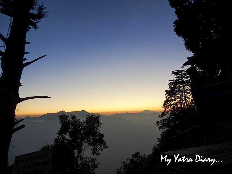 Mesmerizing sunset at Mukteshwar Temple, Uttarakhand