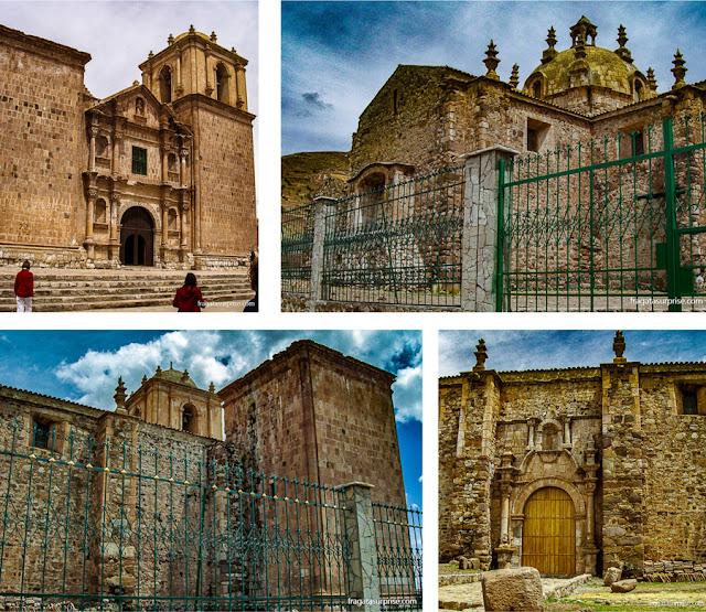 Igreja de São Francisco, Pucará, Peru  (rota do ônibus turístico entre Puno e Cusco)
