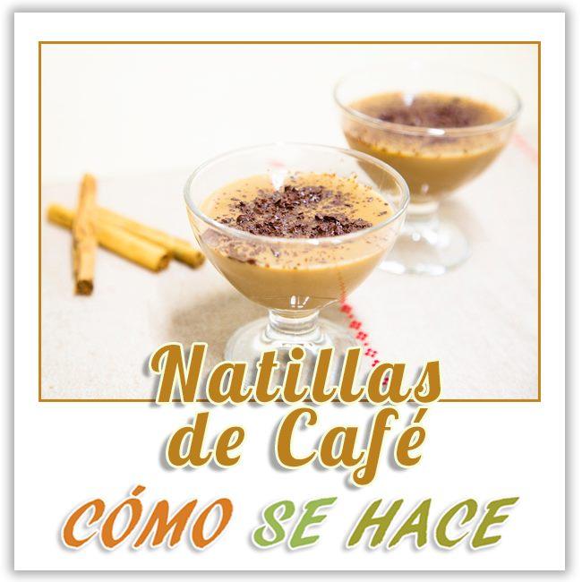 NATILLAS CASERAS DE CAFÍE